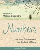 Numbers - Women's Bible Study Leader Guide eBook