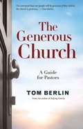 The Generous Church eBook