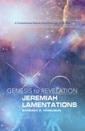 Jeremiah, Lamentations Participant Book (Genesis To Revelation Series) eBook