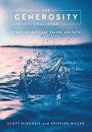 The Generosity Challenge eBook