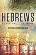 Hebrews Leader Guide eBook