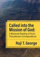Called Into the Mission of God eBook