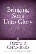 Bringing Sons Unto Glory eBook