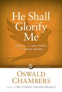 He Shall Glorify Me eBook