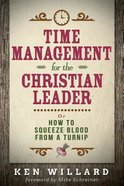 Time Management For the Christian Leader eBook