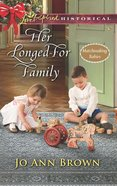 Her Longed-For Family eBook