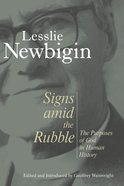 Signs Amid the Rubble Paperback
