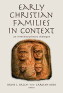 The Early Christian Family Paperback