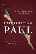 Interpreting Paul Hardback