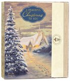 Christmas Boxed Cards: Thomas Kinkade a Peaceful Christmas to You (Is 9:6 Kjv) Stationery