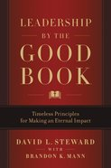 Leadership By the Good Book eBook