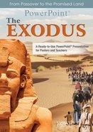 The Exodus Powerpoint Cd-rom