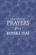 One-Minute Prayers For a Woman's Year Hardback