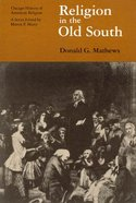 Religion in the Old South Paperback