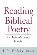 Reading Biblical Poetry Paperback