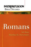 Romans (Interpretation Bible Study Series) Paperback