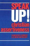 Speak Up! Paperback