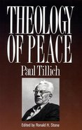 Theology of Peace Paperback