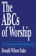 The Abc's of Worship Paperback