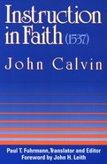 Instruction in Faith Paperback