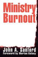 Ministry Burnout Paperback