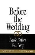Before the Wedding Paperback