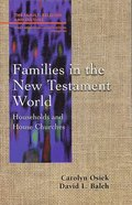 Families in the New Testament World (Family Religion & Culture Series) Paperback