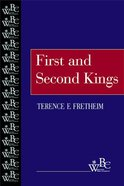 First and Second Kings (Westminster Bible Companion Series) Paperback
