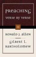 Preaching Verse By Verse Paperback