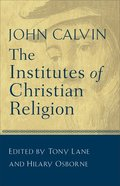 Institutes of Christian Religion Paperback