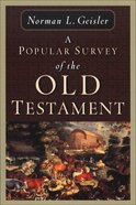 Popular Survey of the Old Testament Paperback