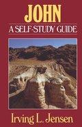 Self Study Guide John (Self-study Guide Series) Paperback