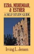 Self Study Guide Ezra Nehemiah & Esther (Self-study Guide Series) Paperback