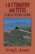 Self Study Guide 1&2 Timothy and Titus (Self-study Guide Series) Paperback
