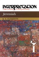 Jeremiah (Interpretation Bible Commentaries Series) Hardback