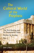 Cultural World of the Prophets Paperback