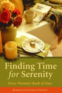 Finding Time For Serenity Paperback