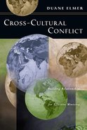 Cross Cultural Conflict Paperback