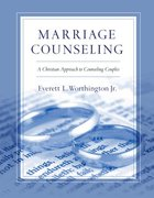 Marriage Counseling Paperback