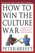 How to Win the Culture War Paperback