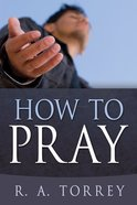 How to Pray Mass Market