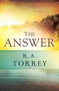 The Answer Paperback