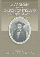 An Apology of the Church of England Paperback