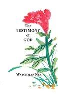 The Testimony of God Paperback