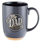 Ceramic Mug: My Dad, My Hero (444ml) Homeware