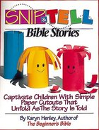 Snip & Tell Bible Stories Paperback