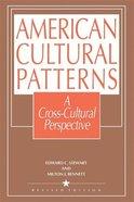 American Culture Patterns Paperback