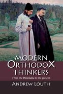 Modern Orthodox Thinkers Paperback
