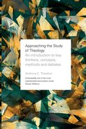 Approaching the Study of Theology Paperback