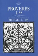 Proverbs 1-9 (Anchor Yale Bible Commentaries Series) Paperback